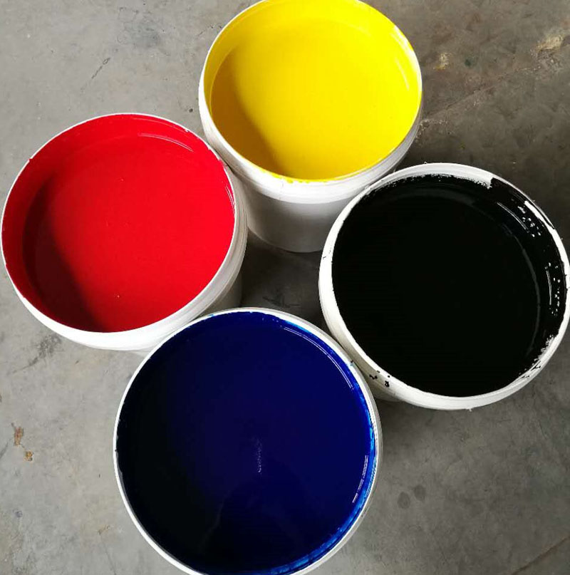 TDD Color Paste and Varnish Series Water-based Inks