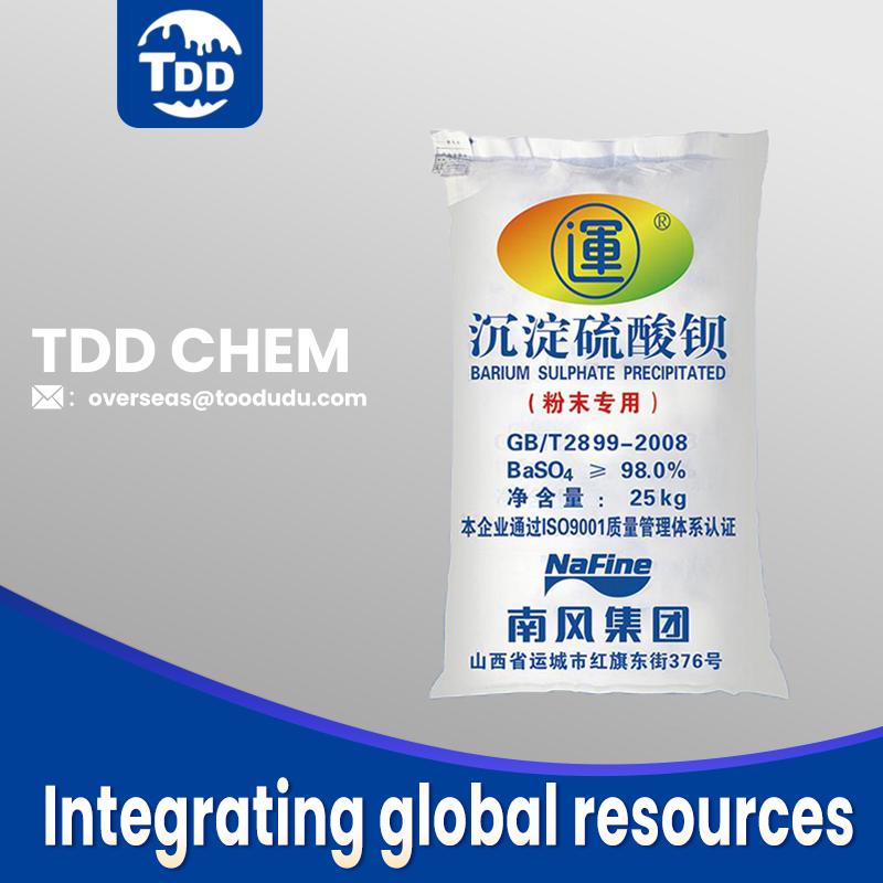 Nanfeng Barium Sulfate Precipitated for Powder Coating 800 Mesh