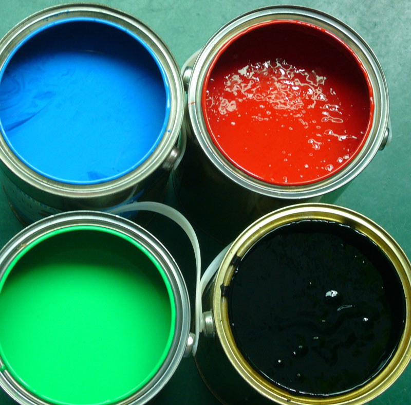 TDD Four-color Overprinting Water- Based Inks