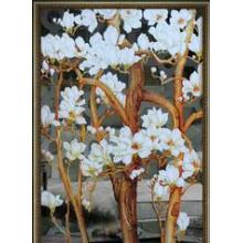 艺术玻璃 隔断屏风装饰雕刻玻璃LH-115