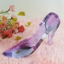水晶高跟鞋 创意生活模型摆件