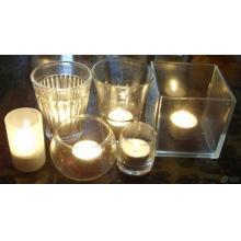 玻璃蜡烛杯