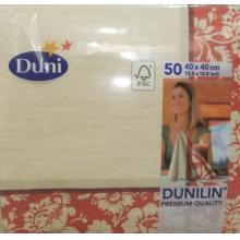 特供德国进口-duni杜尼婚庆宴会一次性加厚餐巾纸仿口布40*40cm