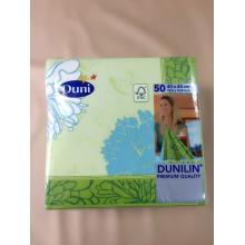 德国进口Duni40cm彩色印花婚礼宴会高档口布型布纹餐巾纸