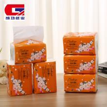 【成功纸业】洁仕雅花意盎然402张6连包 1提 面巾纸 卫生抽纸 餐巾纸厕纸