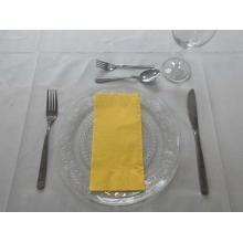 德国杜尼40*40八分之一折纯色餐巾纸---黄色