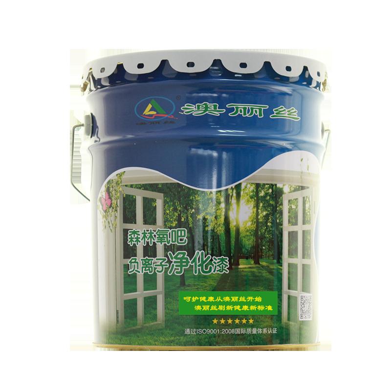 澳丽丝内墙乳胶漆负氧离子净味墙面漆环保油漆涂料18L